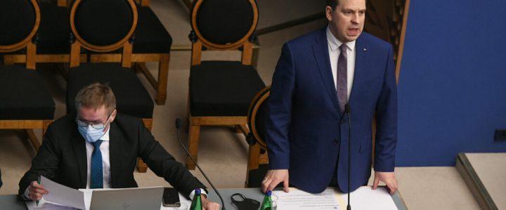 نخست وزیر استونی یوری راتاس به دلیل رسوایی فساد استعفا داد