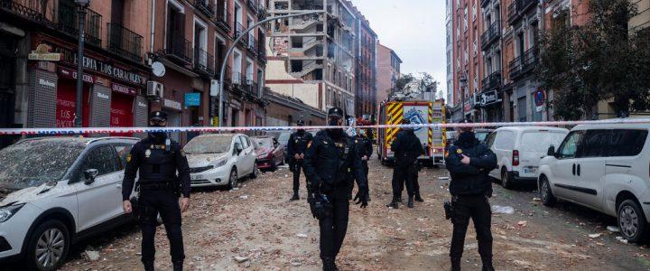 انفجار در مادرید حداقل 3 کشته برجای گذاشت